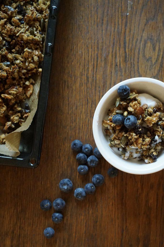 gluten and dairy free granola